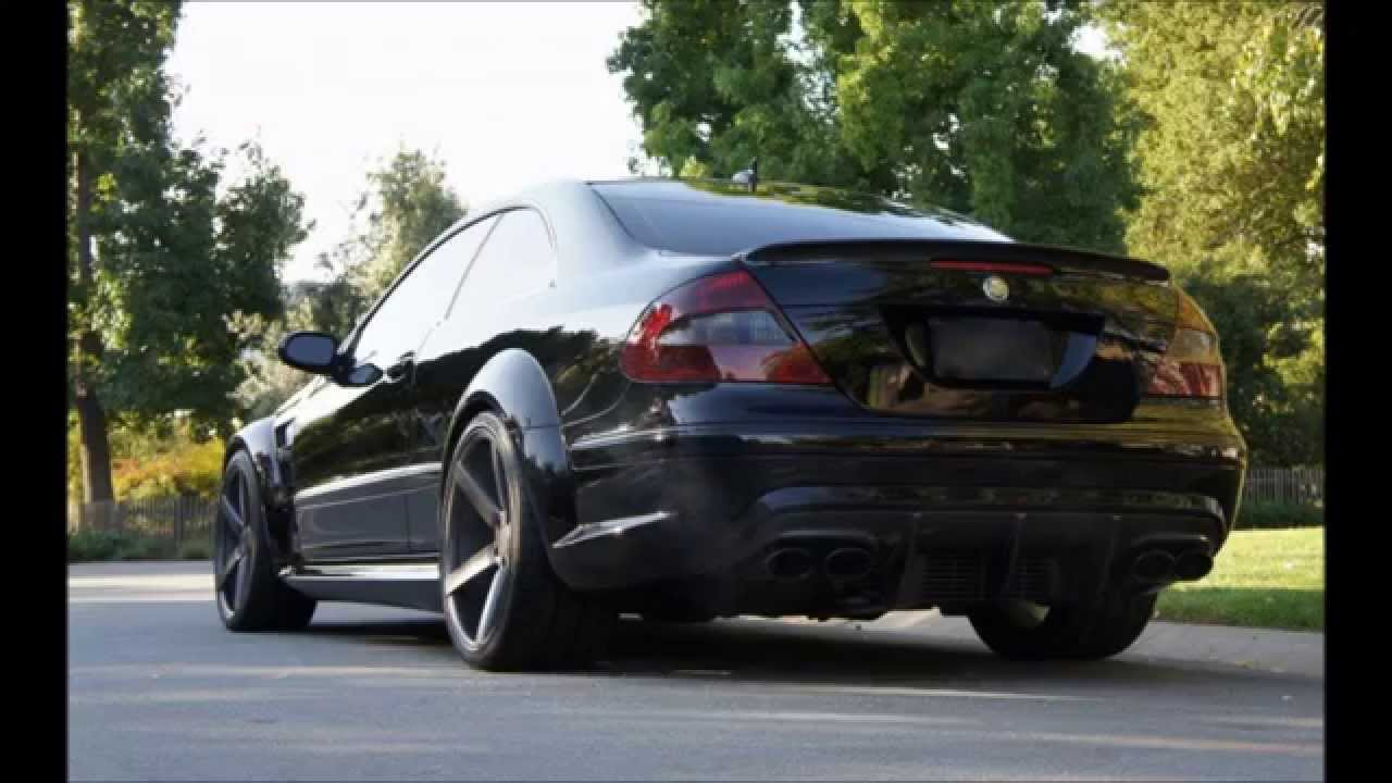 Mercedes Benz Cla >> MERCEDES CLK W209 - PROJECT - AMG BLACK SERIES (Miga Tuning) - YouTube