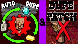 1.16.0-1.16.2 Automatic Duping Machine and How to Fix the Dupe!