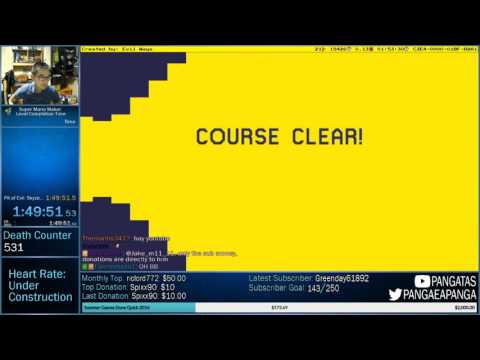 Super Mario Maker - Pit of Evil: Skyzo Sr. [Sadistic Level]
