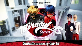 MIRACULOUS SECRETS | 🐞 NATHALIE AS SEEN BY GABRIEL 🐞 | Tales of Ladybug and Cat Noir