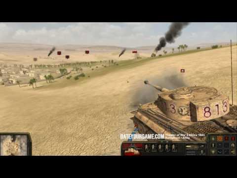 Theatre of War 2 Africa 1943 - Tiger vs M4 Sherman Gameplay |