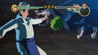 Naruto Ultimate Ninja Storm 2 Legacy Trilogy PC MOD 60 FPS - School Naruto vs Ramen Guy Ichiraku