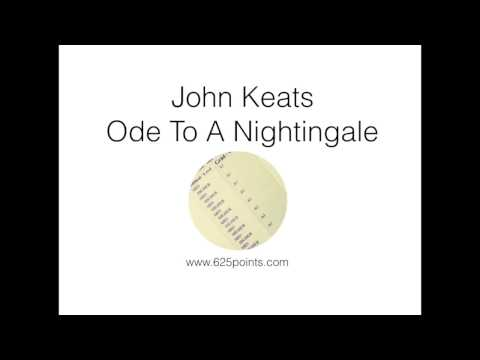John Keats Ode to A Nightingale 625 Points Leaving Cert English