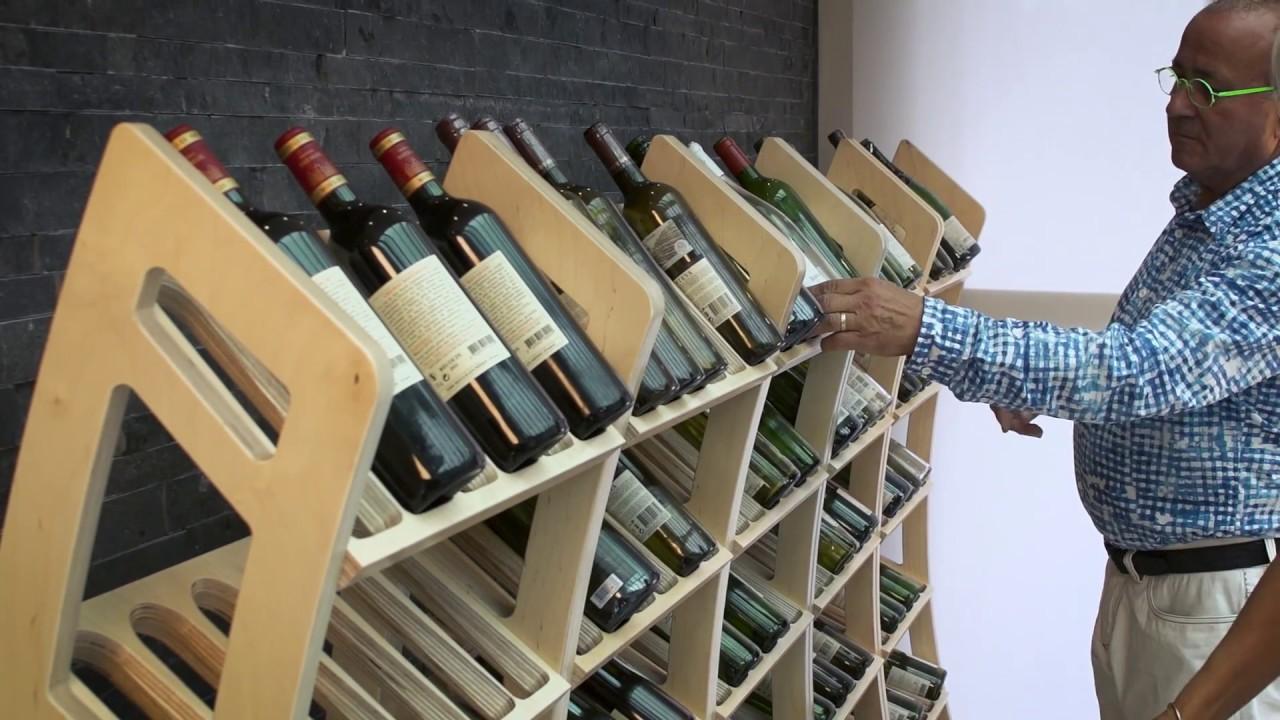 bois pour 36 bouteilles de vin