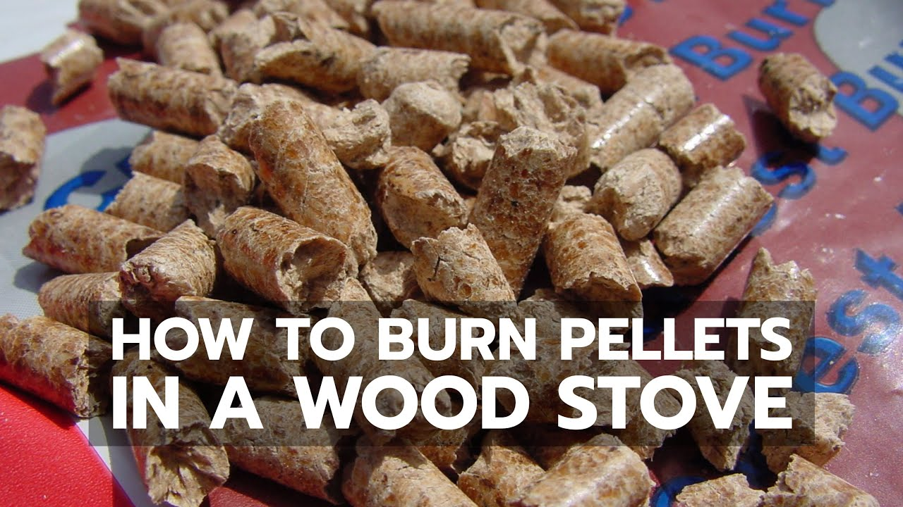 Burning Wood Pellets Manufacture ~ How to burn wood pellets in any ordinary woodstove or