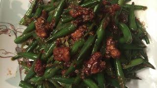 ឆាសាណ្ដែក Stir Fried Green Beans-cambodian/khmer Cooking With Elissa