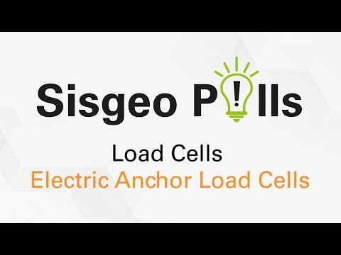 Electrical Resistance Anchor Load Cell - Sisgeo Pills