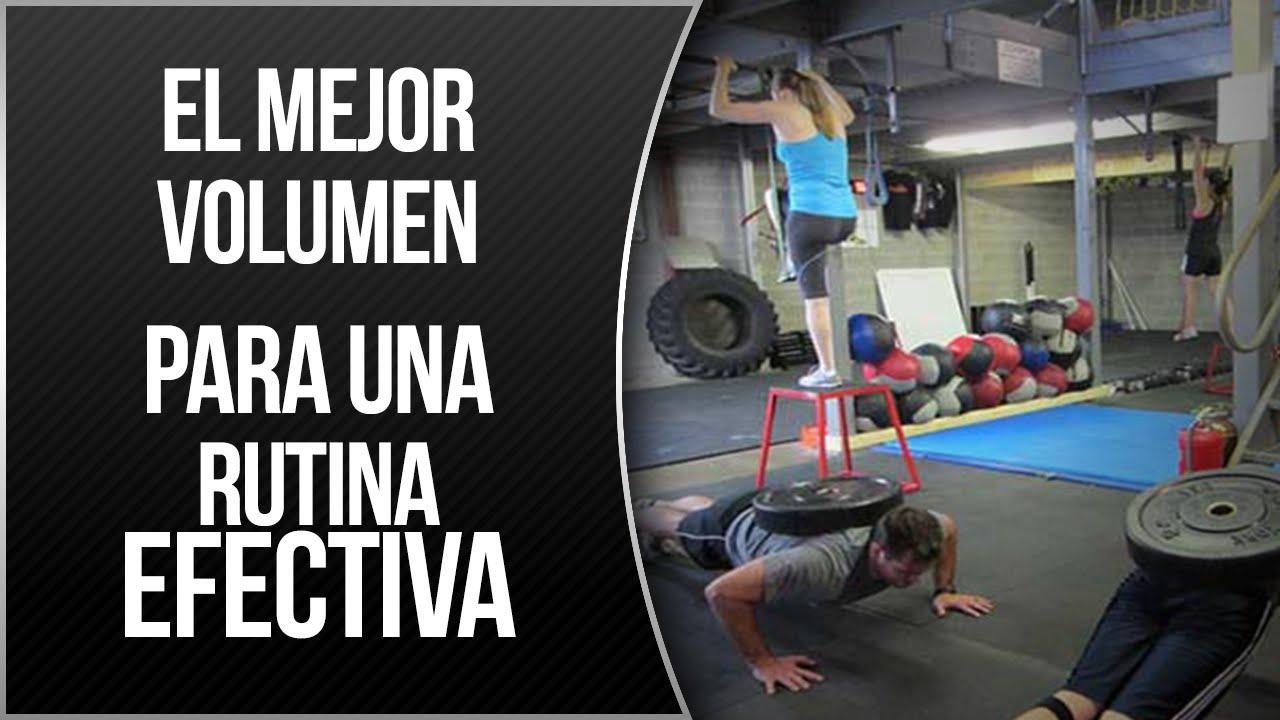 Grupo muscular de ejercicios para cada rutina