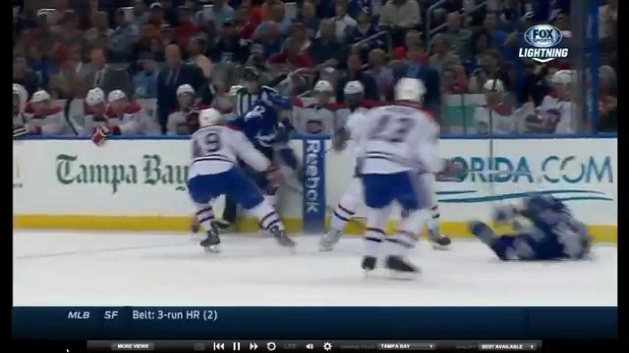 Douglas Murray Elbow Hit on Mike Kostka