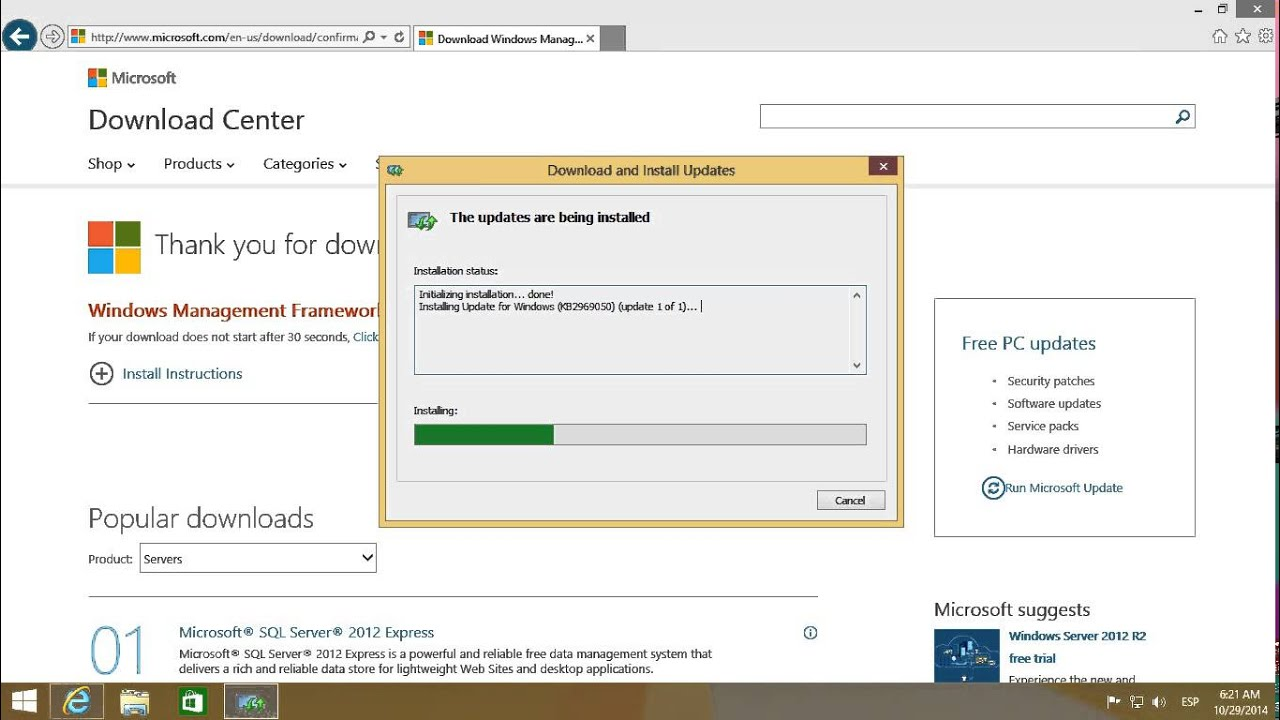 Instalar Windows Management Framework 5.0 Preview en Windows 8.1 ...