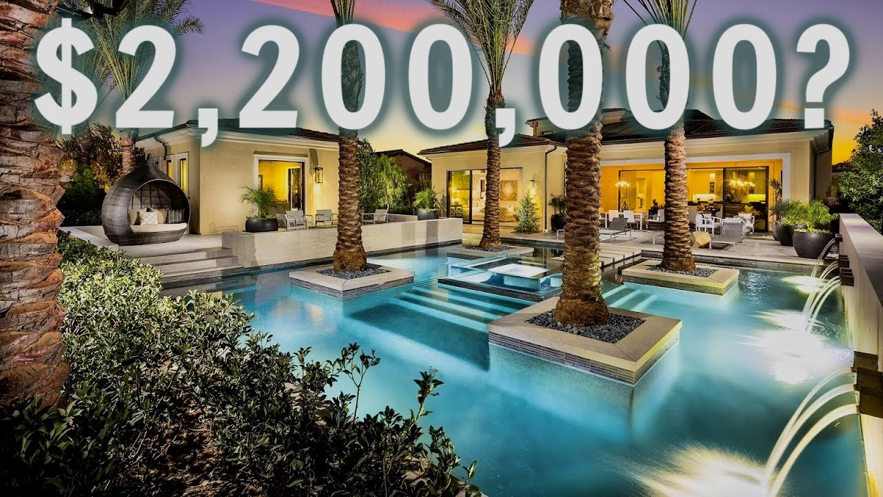 INSIDE A LUXURY MODERN TROPICAL Los Angeles Mansion | Mansion Tour