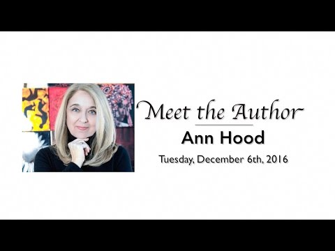 "Meet The Author: Ann Hood - ""The Book That Matters Most"""