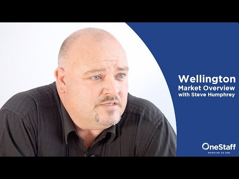 Hiring Advice - Wellington Market Overview with Steve Humphreys: Projects, OneStaff and the Future