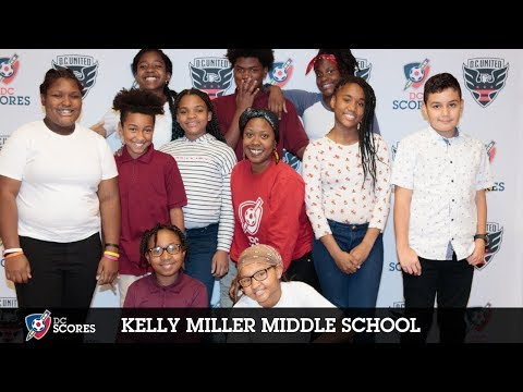 Kelly Miller Middle School performs at the 2018 Poetry Slam