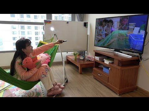 Con Không Được Xem Tivi Gần Thế ❤ BIBI TV ❤