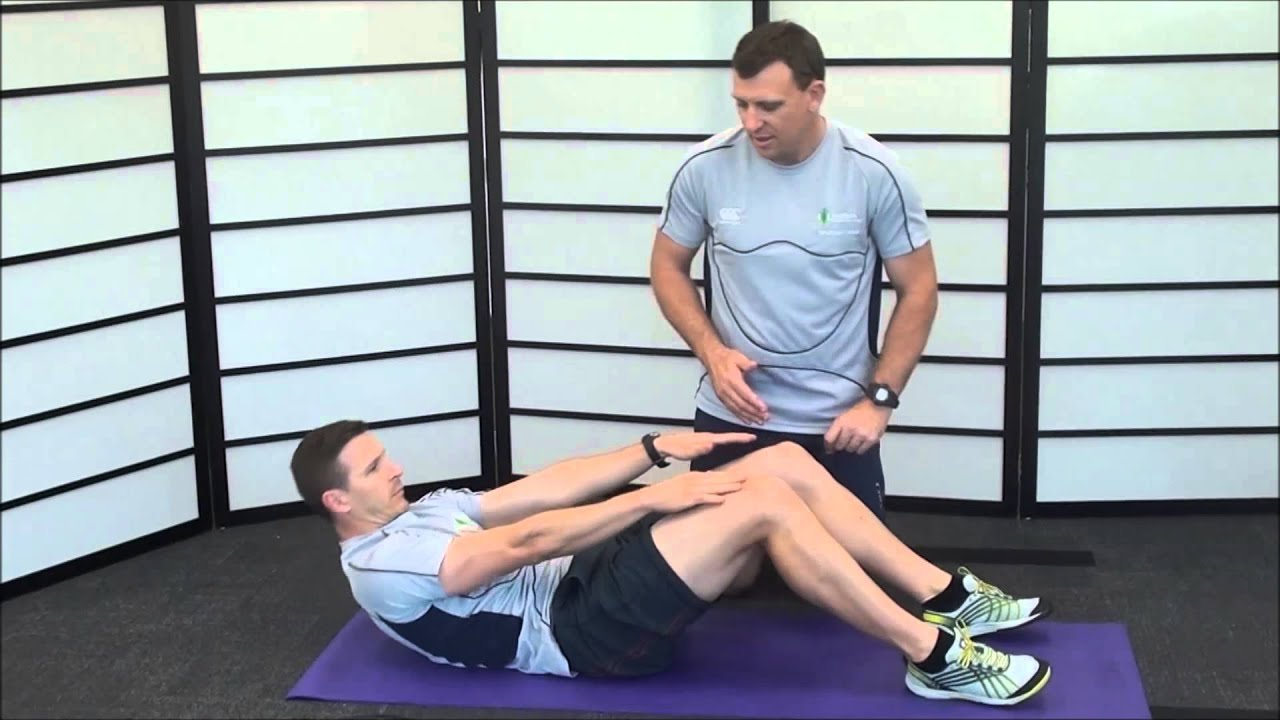 7 Stage Sit up Test - YouTube