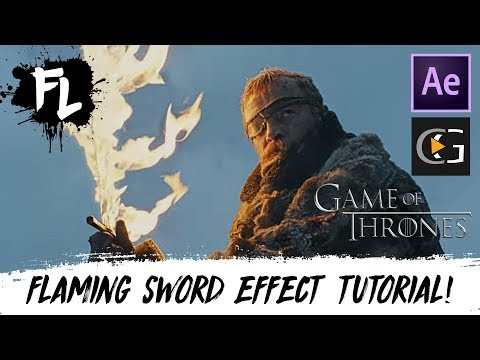 Game Of Thrones Flaming Sword After Effects Tutorial! | Film Learnin thumbnail