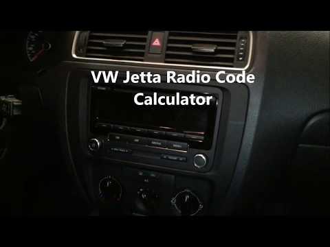 How To Get Volkswagen Jetta Radio Code By Online Calculating Tool