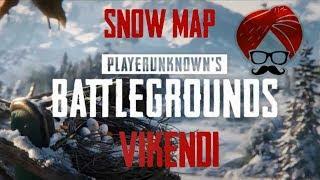 PUBG PC | SNOW MAP | VIKENDI | EXPLORING THE MAP 🐱🚀🏍