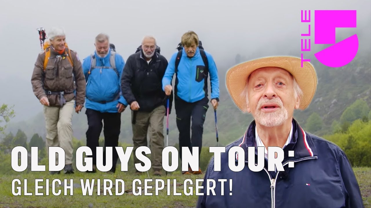 Gleich wird Gepilgert! I Old Guys On Tour I TELE 5