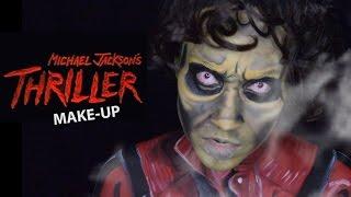 Michael Jackson Thriller Makeup Tutorial