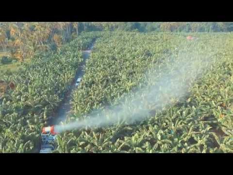 2000L Air Blast Sprayer (HTI-2000MST) - Lifting Up Fan ...