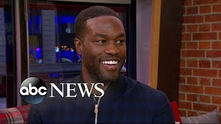 'Aquaman' star Yahya Abdul-Mateen II dishes on the new film