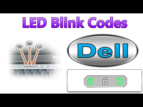 Dell LED Blink Error Codes -1 - YouTube