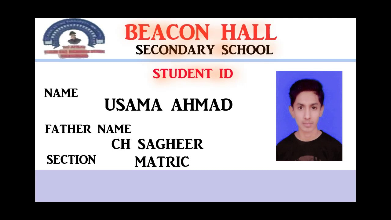 Ahmad usama - To Card Youtube In Adobe Id 0 Student How Photoshop Make Tv 7