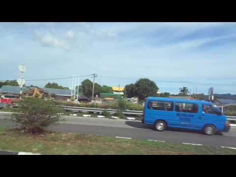 Bus 102 from Penang International Airport to George Town