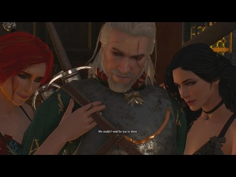 triss and geralt ending relationship