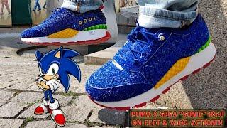 PUMA X SEGA COLLAB SONIC RS-0 ON FOOT / VLOG ACTION IN BAZOOKA & CROOKLYN & SOME PICK UPS!!!