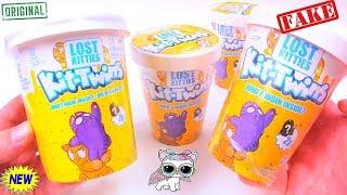ШОК! TWIN KITTENS IN ICE CREAM! Китайская Подделка КОТЯТА В МОРОЖЕНОМ! Surprises with Play Doh