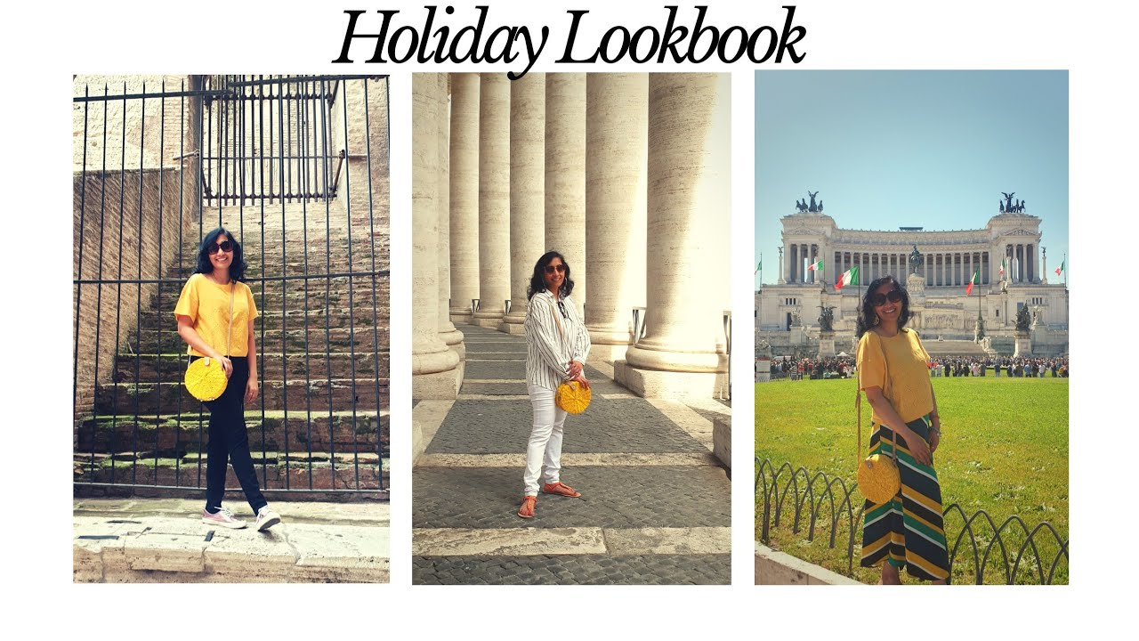 Holiday Lookbook | What I wore in Rome for my Holiday | Spring Lookbook | Holiday Outfit Ideas