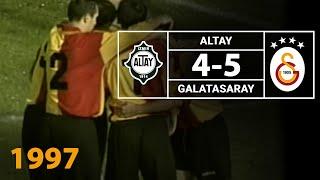 Nostalji Maçlar | Altay 4 - 5 Galatasaray ( 16.11.1997 )