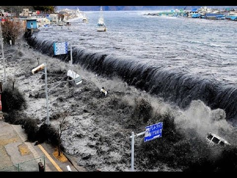 Tsunami Real sunami Strikes! - YouTube