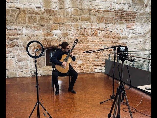 Microrecital de chitară la Turnul Croitorilor - Andrei Pițu și Andrei Tcaciuc