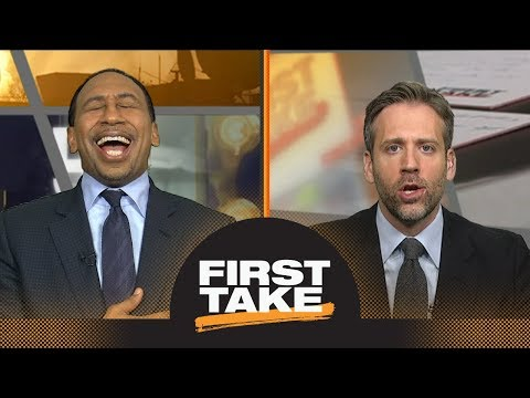 Stephen A. laughs at Max's take, goes on rant about LeBron James' greatness | First Take | ESPN