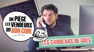 Canulars : Greg piège les vendeurs du Bon Coin - Ep. 1 - Le Flutiste