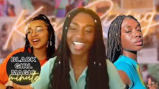 Ava Tocloo Freestyles and Talks Creating on TikTok // Black Girl Magic Minute