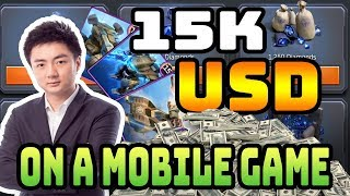 Meet the guy who spent $15,000 on a mobile game   C&C Rivals