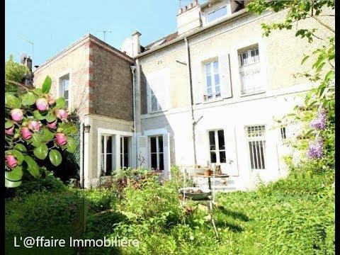 Exceptionnelle Maison Bourgeoise Avec Jardin Youtube
