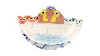 How to Make a Colorful Noah's Ark Craft | Craft Tutorial