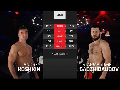 ACA 118: Андрей Кошкин vs. Устармагомед Гаджидаудов   Andrei Koshkin vs. Ustarmagomed Gadzhidaudov