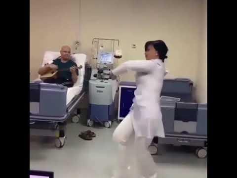 В Кисловодске медик станцевала для пациента больницы super gurcu reqsi izleyin.