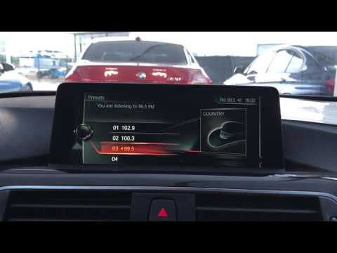 BMW 330i Radio Presets Tutorial F30/F31 @ BMW of Arlington