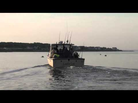 Headed out for a day of fishing in buzzards bay youtube for Laura lee fishing report