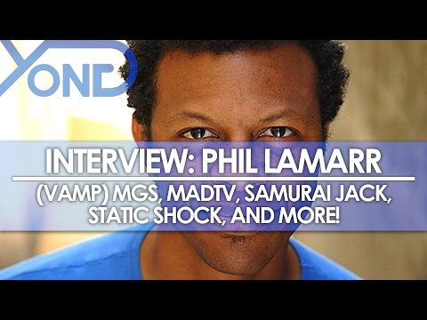 The Codec - Phil LaMarr Interview: Vamp, MadTV, Samurai Jack, Static Shock, and More Discussed!