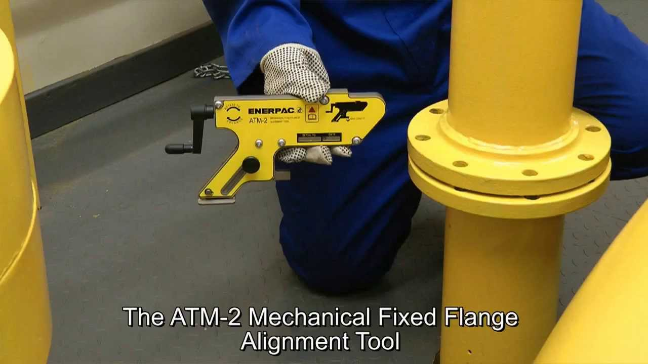 Mechanical Fixed Flange Alignment Tools Enerpac Atm 2