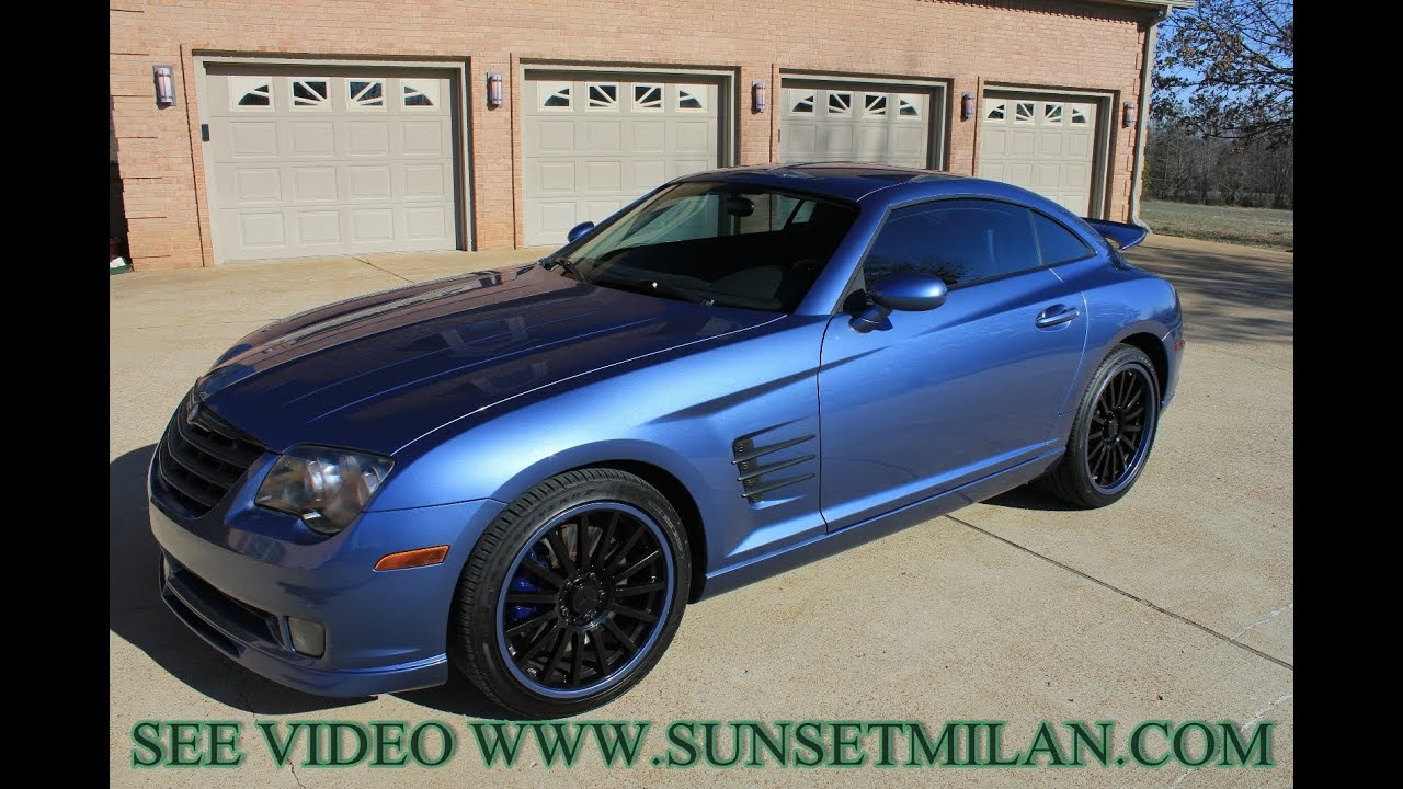 chrysler crossfire srt6. hd video 2005 chrysler crossfire srt6 for sale used see www sunsetmilan com youtube chrysler crossfire srt6